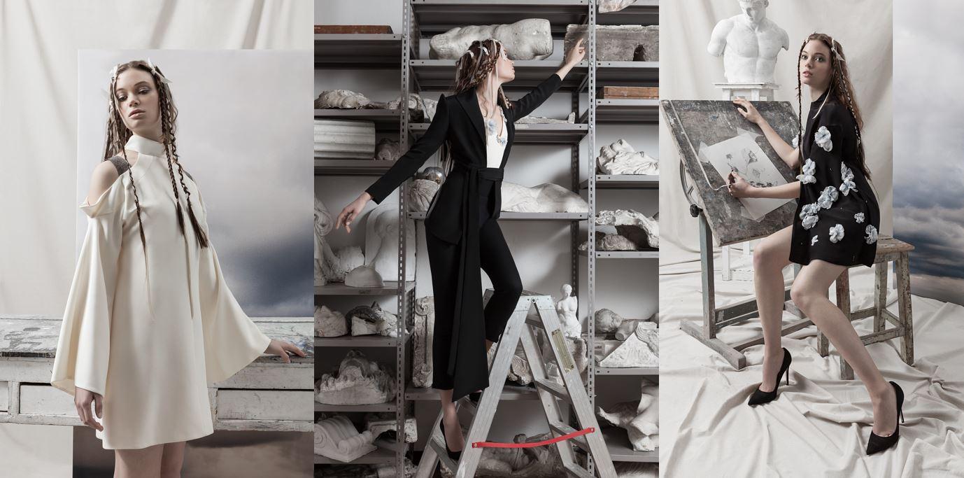 Per l'autunno/inverno 2017/2018 Gretel Zanotti ha un'ispirazione artistica molto forte.