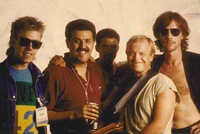 """I Level 42 di """"Lessons in Love"""" nel 1986. Per Claudio Trotta """"sono stati fondamentali, il mio primo contatto con un gruppo pop molto famoso""""."""