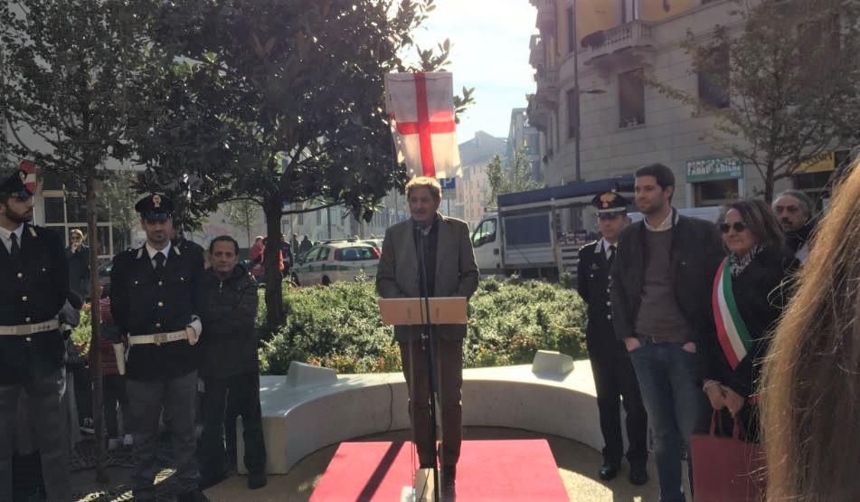Nino Strada, vice-presidente di 4 Tunnel, promotore della riqualificazione della piazza a NoLo.