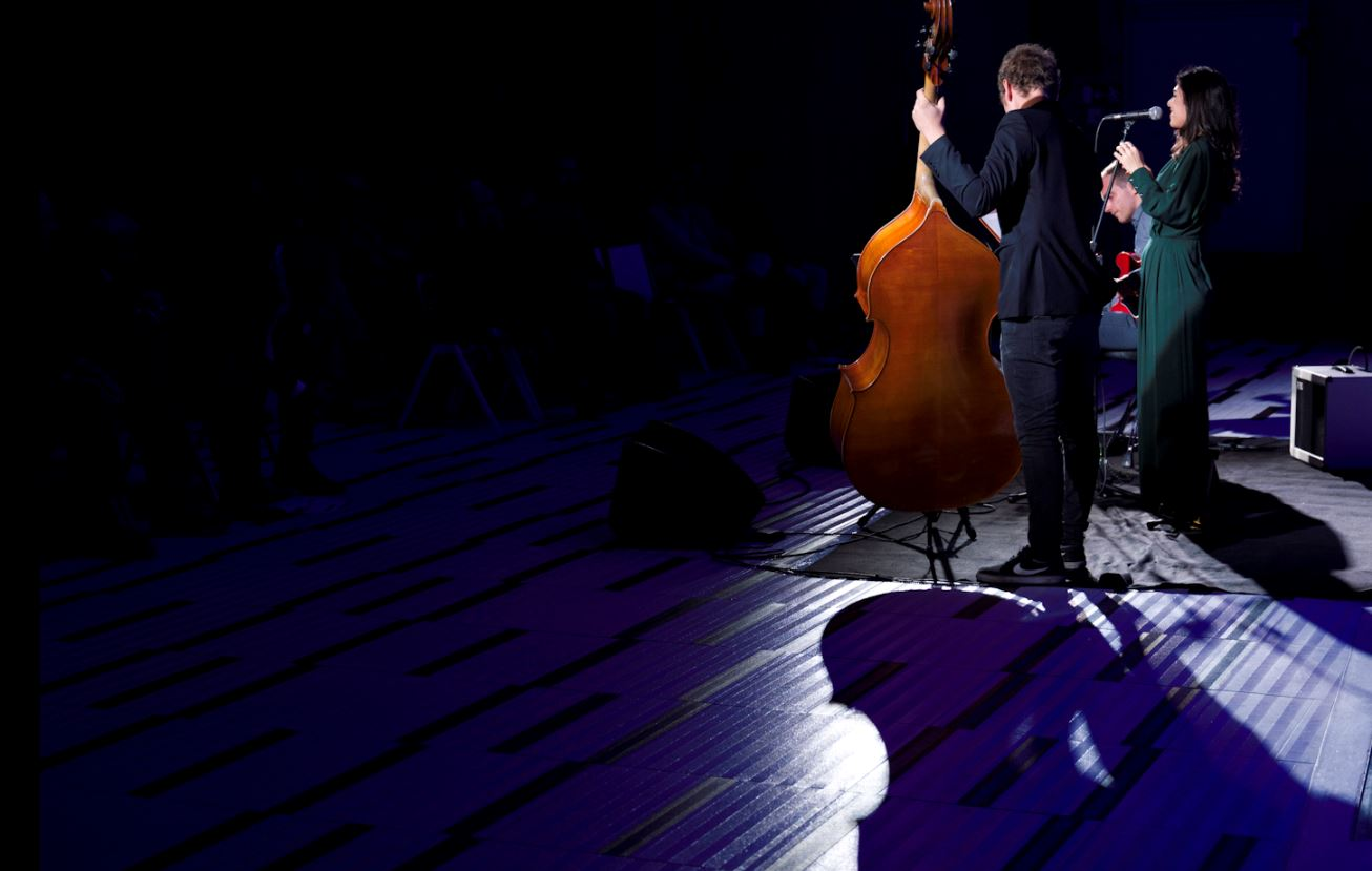 Orion Trio al festival Jazz Mi al grattacielo Pirelli (foto per The Way Magazine: Gianni Foraboschi).