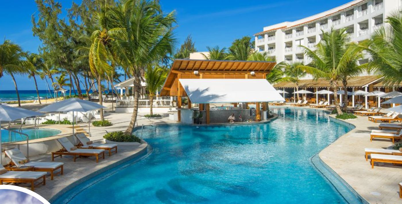 Il Sandals Resort a Barbados, nell'area St. Lawrence Gap.