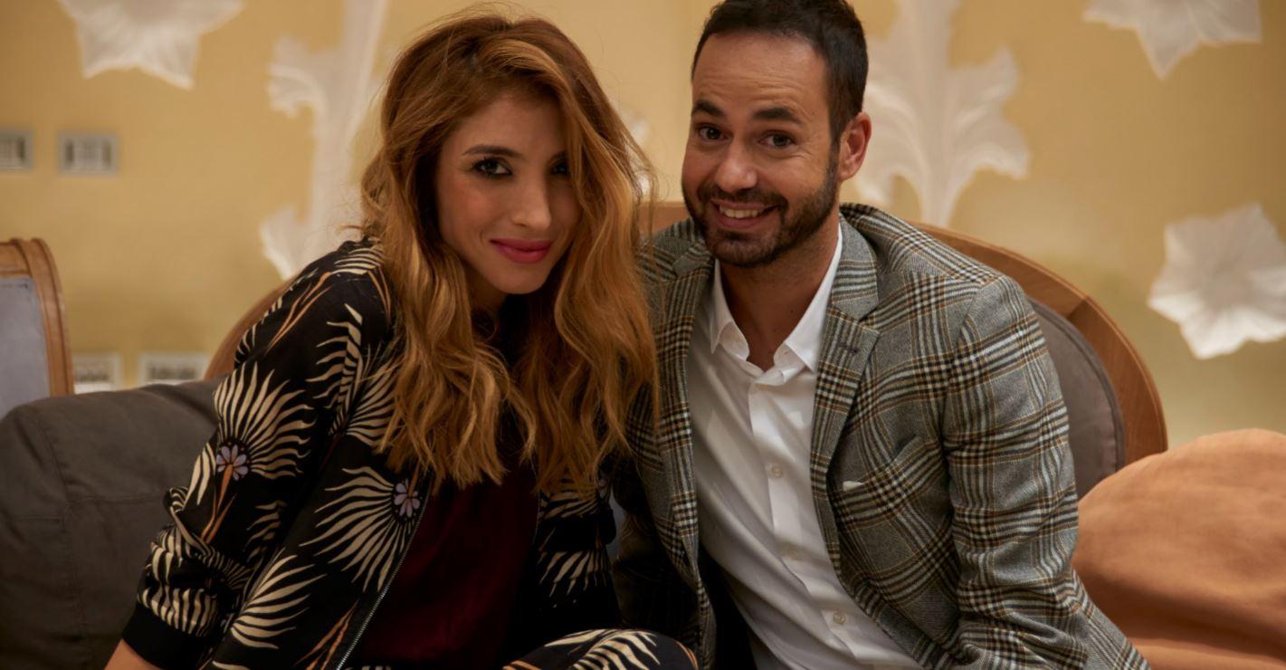 Margherita Zanatta con Damiano Gallo durante il programma ABC Casa, in onda la domenica su 7Gold.