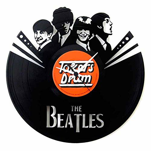 Orologio in vinile The Beatles di Vinyluse
