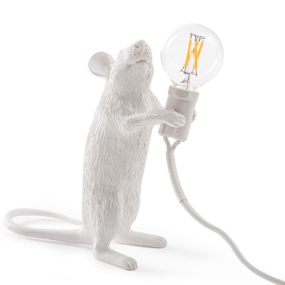 Seletti - Lampada in resina mouse