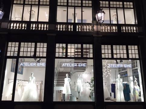 Il 30 novembr eil brand Atleier Emé ha aperto a Torino.