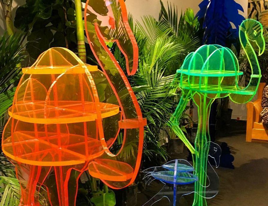 Gino Marotta, Artificiale Flamingo - pezzi unici