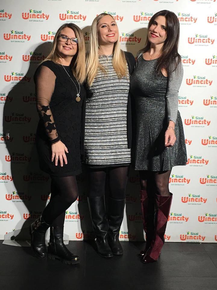 giuria tecnica da sinistra Germana Busca, Luisa Ambrosini, Alessandra Fenyves di The Way Magazine.