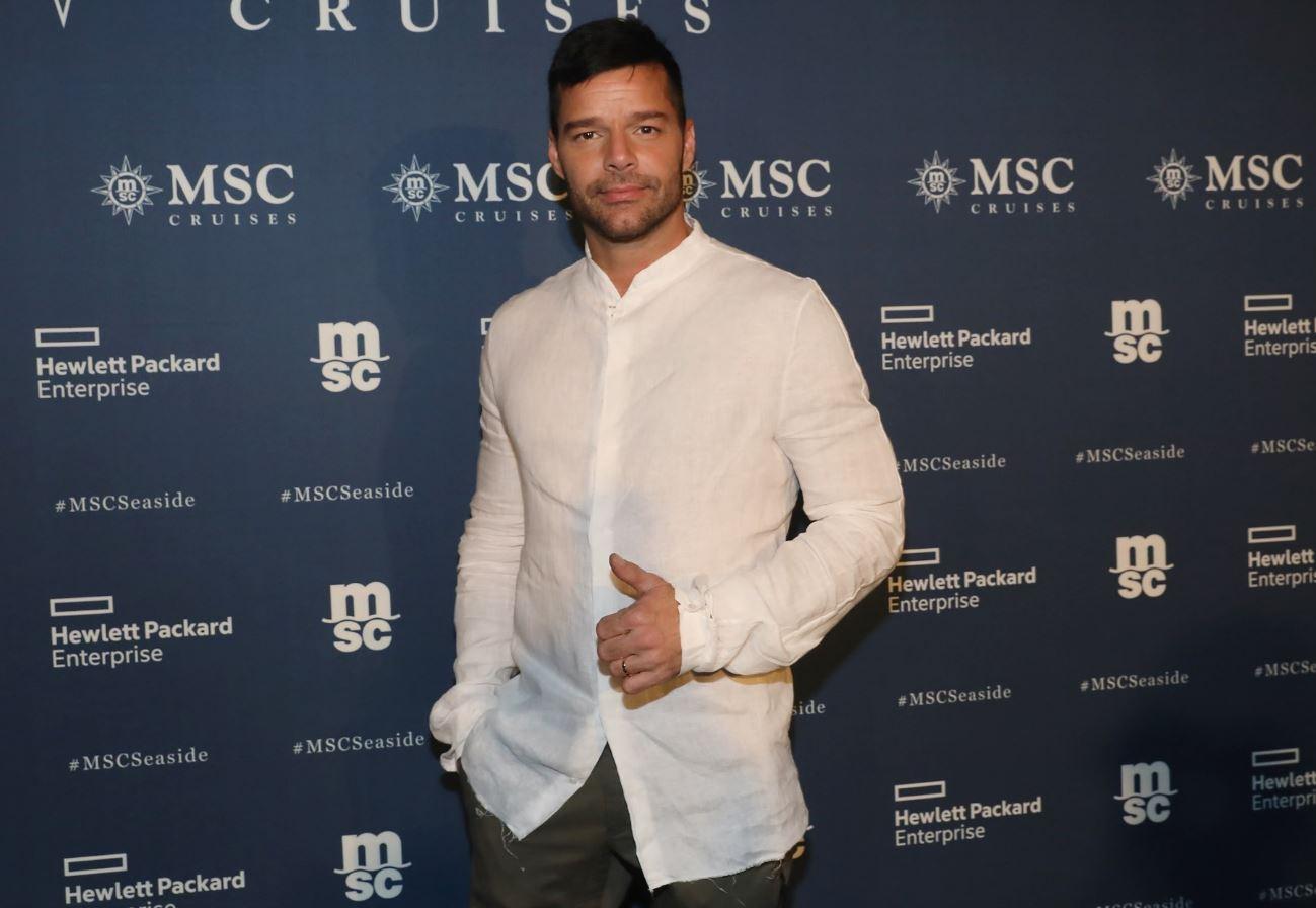 Ricky Martin a Miami per MSC Crociere (dicembre 2017)