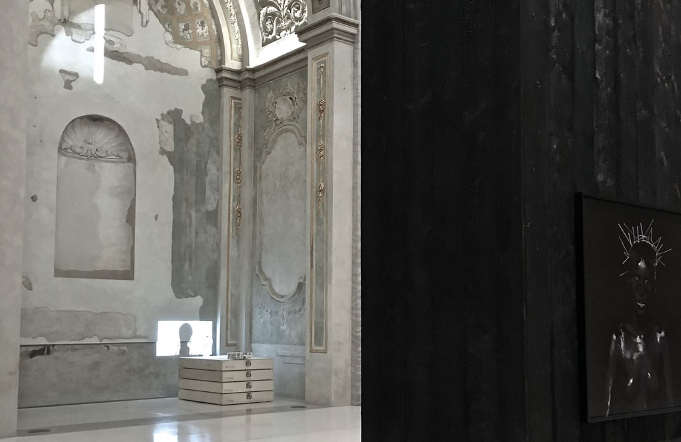 """""""XI comandamento: non dimenticare"""", mostra antologica di mustafa sabbagh – veduta musei san domenico, forlì – fino al 14.01.2018 credits: nicoletta vettori - courtesy: l'artista, musei san domenico [fc]"""