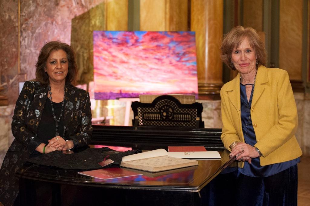 Guia e Francesca Mascagni.