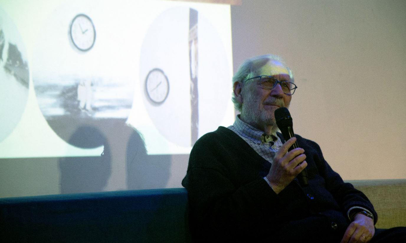 Emilio Isgrò fotografato alla Rovereto House & Lab di NoLo per Oi Dialogoi di The Way Magazine (foto: Federica Uberti)