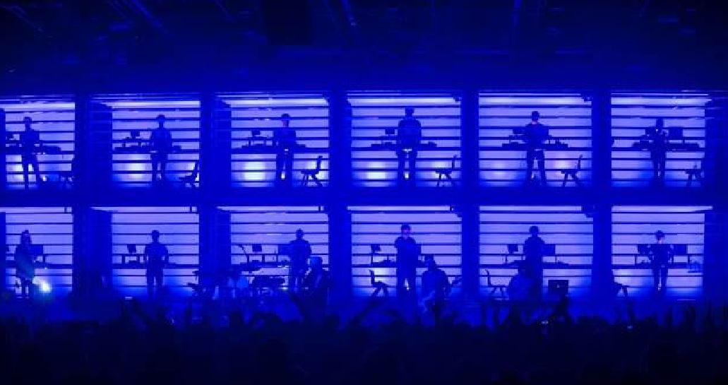 I New Order, portati alle OGR di Torino grazie alla partnership col festival di Manchester.