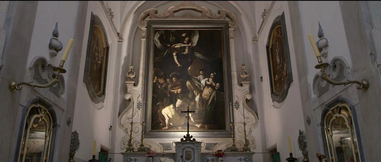 Le Sette opere di misericordia al Pio Monte di Misericordia a Napoli.