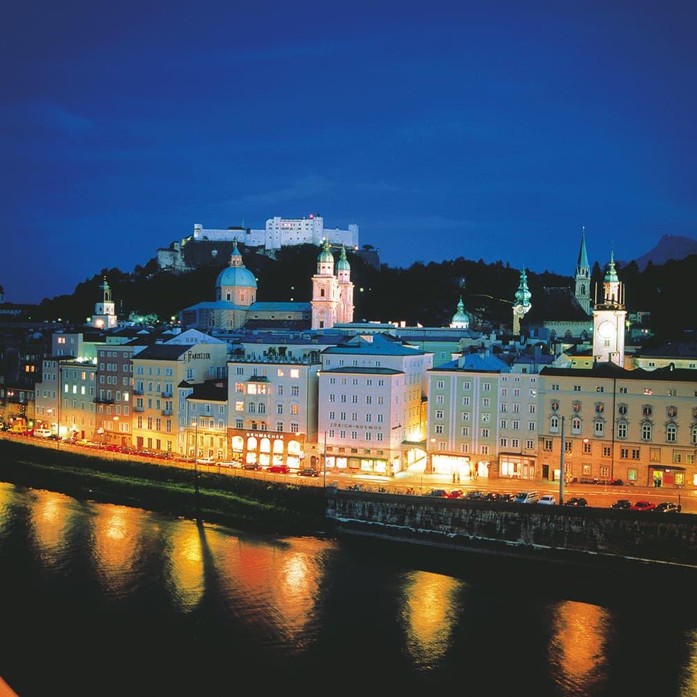 Salisburgo città d'arte e di musica in Austria.