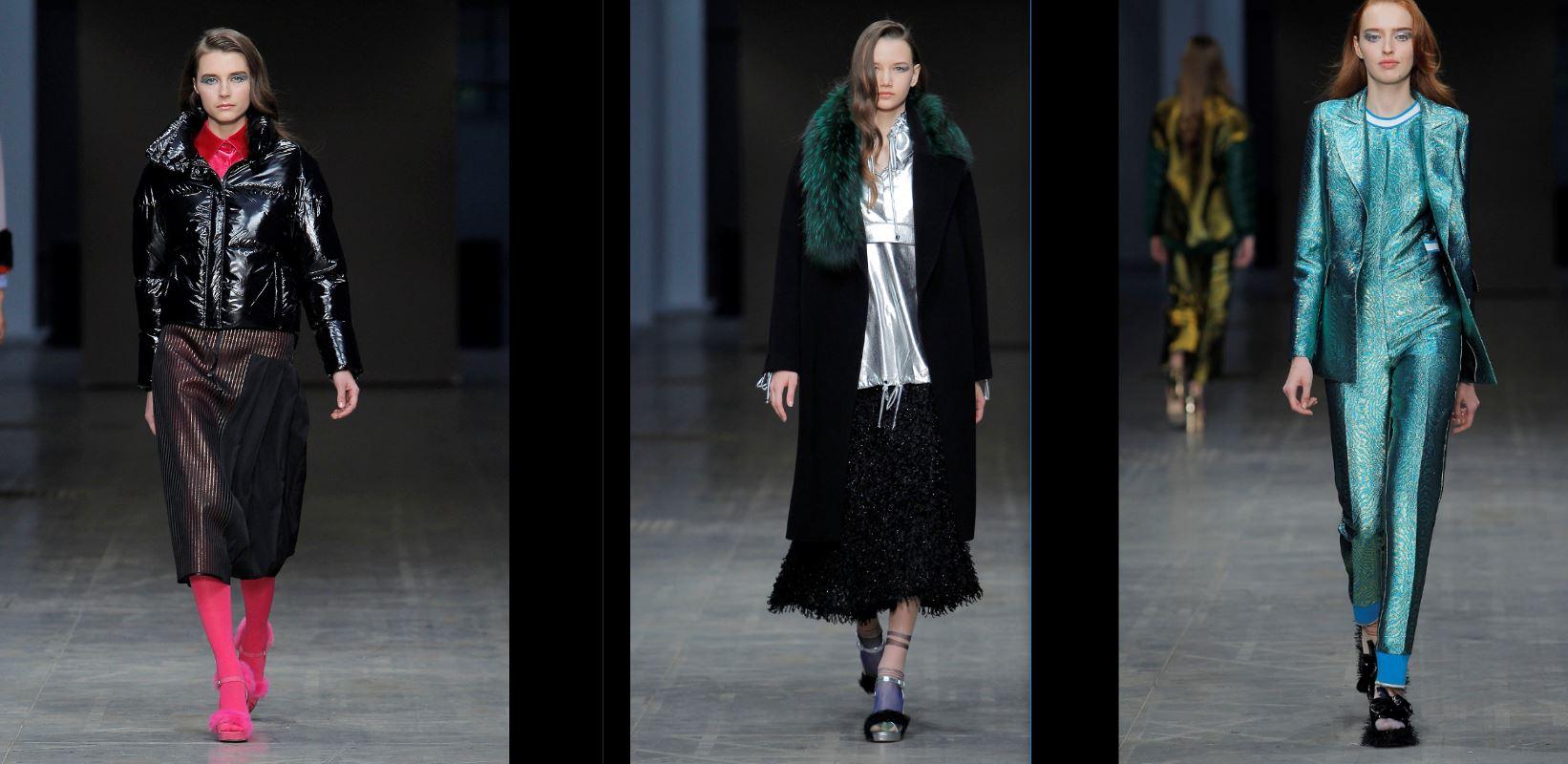 Carlos Gil ha sfilato a Milano Moda Donna nell'ambito di Portugal Fashion. Questi sono i capi per l'autunno/inverno 2018-19. (fotoservizio di Ugo Camera).