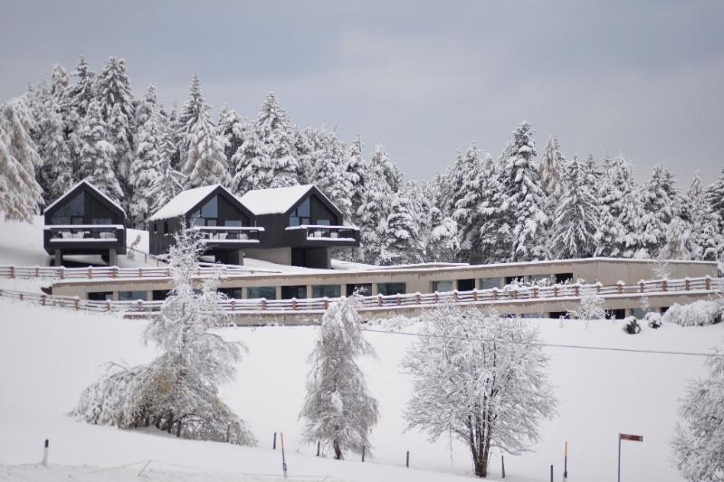 La neve sulle Dolomiti per un weekend romantico.