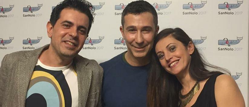 I giurati di Sannolo anche nel 2018: Christian D'Antonio, Graziano Ostuni e Petra Loreggian.
