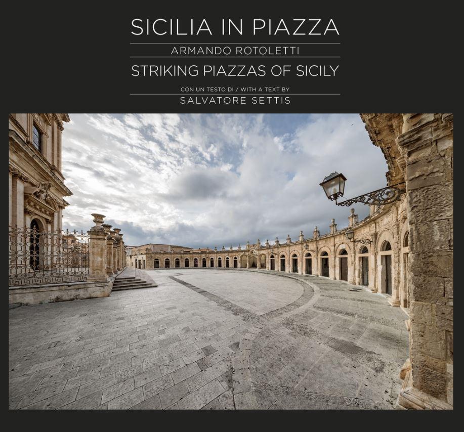 Sicilia in Piazza è uscito nel 2017. 156 giorni di riprese, 7.000 Km percorsi attraversando la Sicilia. Ci sono 82 piazze mozzafiato in 132 pagine.