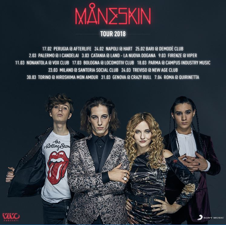 maneskin the way magazine