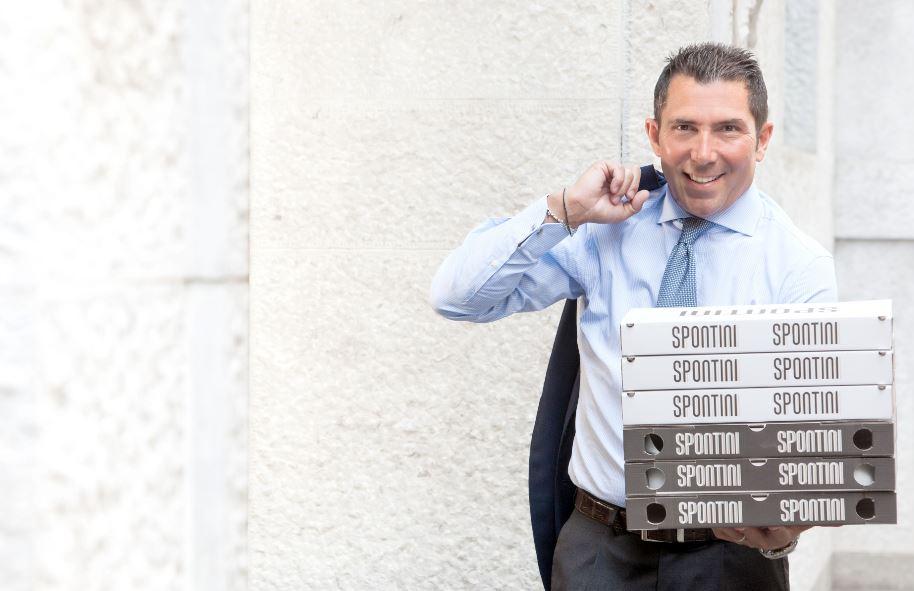 Massimo Innocenti, uno dei più rampanti imprenditori milanesi in questi anni. Spontini è infatti il nuovo brand del cibo made in Italy che conquista l'estero.