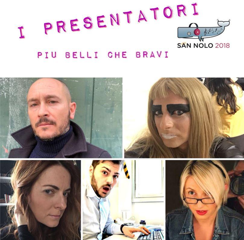La squadra di Sannolo 2018. In prima fila Lorenzo e Rovyna. Seconda fila Anna, Vincenzo e Ileana.
