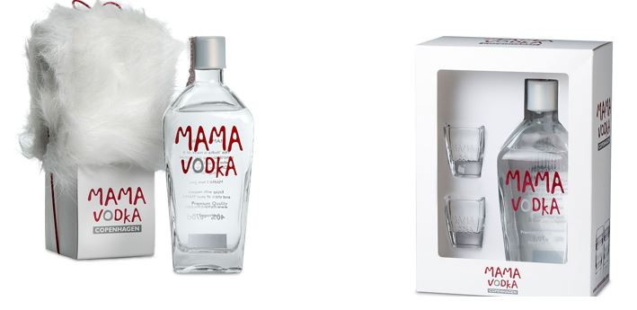 Puro cristallo e pelliccia per il pack della Mama Vodka.
