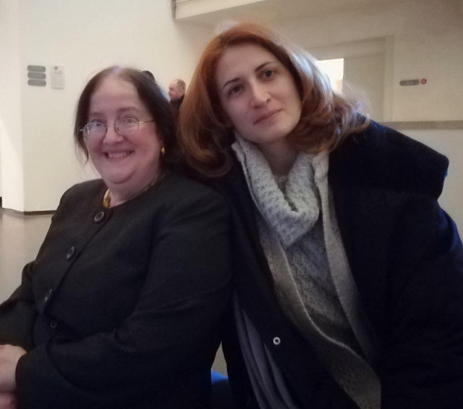 Camilla Di Biagio di The Way Magazine con Sarah E. Thompson, curatrice della mostra a Roma di Hiroshige.