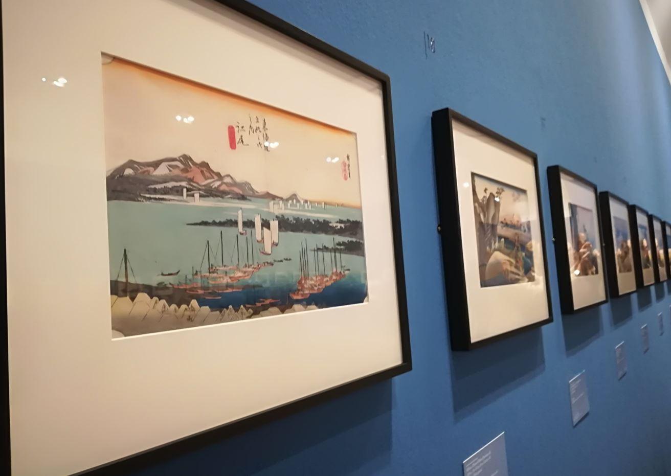 Stazioni di posta del Tokaido fotografate in mostra da Camilla Di Biagio per The Way Magazine.