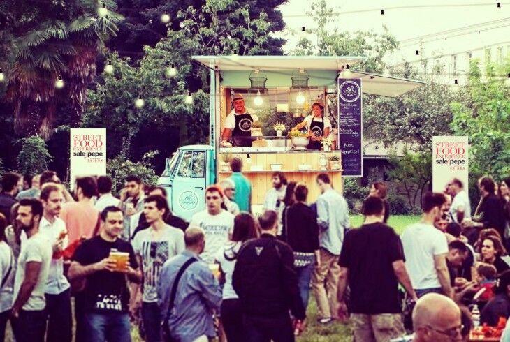 Street Food al Giardino Ventura di Lambrate Design District.