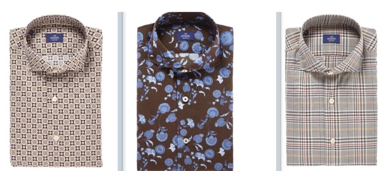pacchetto elegante e robusto 100% autentico autentico Fiori e madreperle per le camicie di Alessandro Gherardi ...