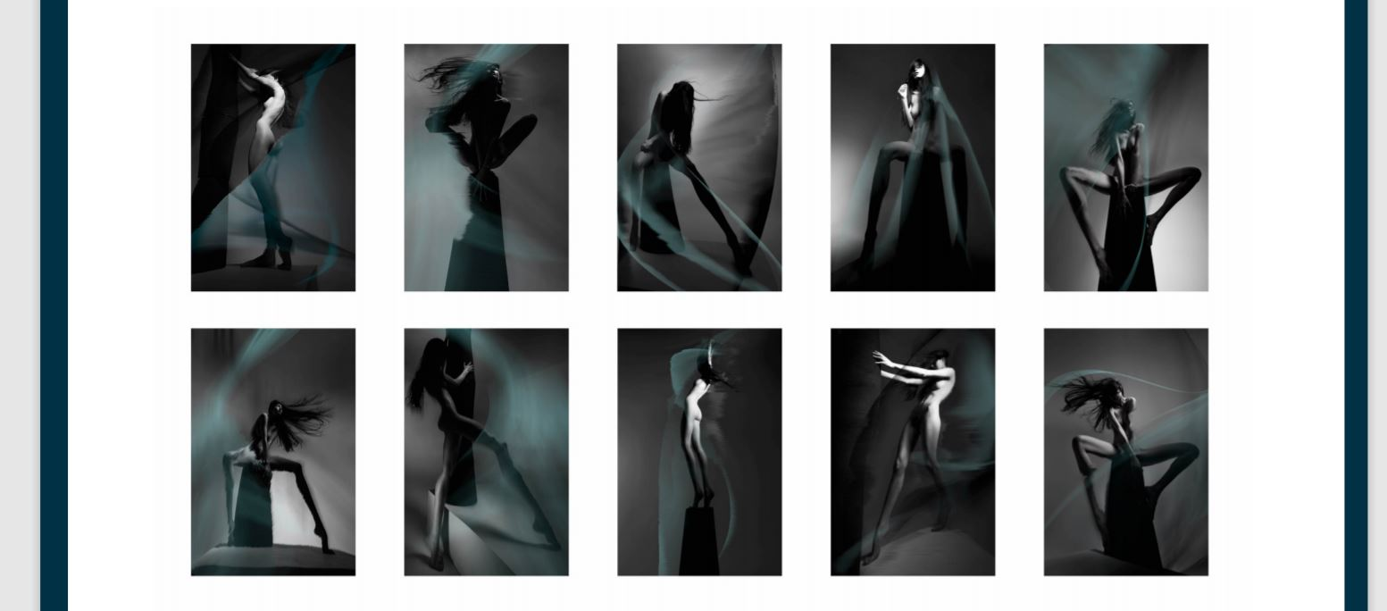 Swept Series, 2017. Pigment Print on Archival Paper. Edition of 15. 54 x 42.5 cm each. Stoney Darkstone